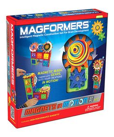 Love this 38-Piece Magnets in Motion Set by S.T.E.M. Learning Toys on #zulily! #zulilyfinds