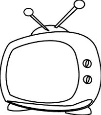 Resultado de imagen para watching tv black and white drawings Beach Coloring Pages, Coloring Pages For Kids, Coloring Sheets, Coloring Books, Gemini And Libra, Famous Monuments, Quiet Book Patterns, White Pages, Black And White Drawing