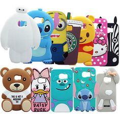 Cute Cartoon Soft Silicone Back Case For Samsung Galaxy S7/S6 edge/S6 edge Plus in Cell Phones & Accessories,Cell Phone Accessories,Cases, Covers & Skins | eBay