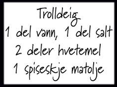 Trolldeig