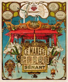 Manège Carré Sénart Paris, Carousel, Carousels, Carousel Horses