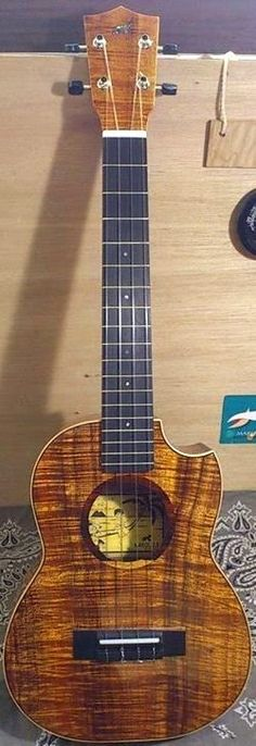 Hirano Makoto Tenor Makolele  #LardysUkuleleOfTheDay ~ https://www.pinterest.com/lardyfatboy/lardys-ukulele-of-the-day/ ~