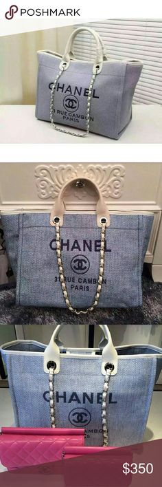 b1ab12792f23 125 Best Chanel Deuville Totes images   Chanel handbags, Bags, Taschen