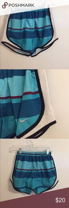 Blue striped Nike shorts Blue Nike striped shorts Nike Shorts