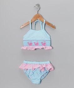 Sweet La Tea Da Blue Whale Bikini Sunsuit
