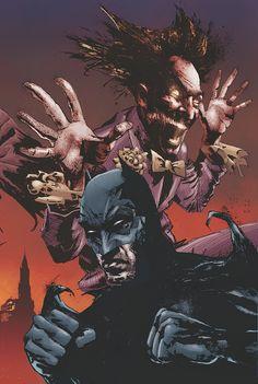 Batman vs Joker by Jason Shawn Alexander