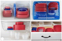 5 Easy And Affordable Ways To Organize All Your Food Containers - One Good Thing by Jillee