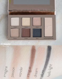 It Cosmetics Naturally Pretty Essentials Shadow Palette Swatch Picture