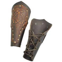 Valkyrie's Bracers - by Medieval Collectibles