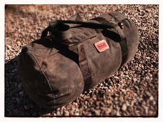 Waxed Canvas Duffle Bag | Wynnchester Outdoors: Camp & Adventure