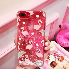 flamingo quicksand Phone Case - Thumbnail 1