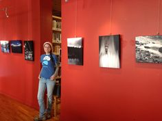 Artist residency show. I printed on canvas from canvas on demand. Great quality, and saved $500 with a groupon.