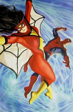 Alex Ross - Spider-Man and Spider-Woman