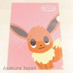 Pokemon Center Original pokémon time A4 Size Clear File Folder Eevee | eBay