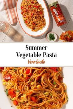 Tasty Vegetarian Recipes, Lunch Recipes, Vegetarian Main Dishes, Clean Eating Recipes, Cooking Recipes, Healthy Recipes, Vegetable Pasta Recipes, Best Pasta Recipes, Hot Pepper Recipes