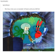 sweater of tears   SpongeBob SquarePants   Know Your Meme
