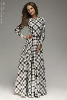 White Plaid Pleated Belt Long Sleeve Maxi Dress - same cheap site, cute for Christmas time Long Sleeve Maxi, Maxi Dress With Sleeves, Dress Skirt, Dress Up, Gown Dress, Plaid Dress, Pink Dress, Shirt Dress, Long Chiffon Skirt
