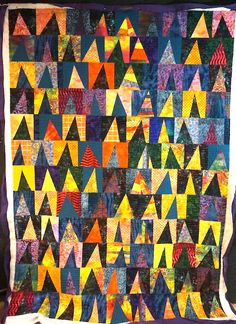 Triangles, Triangle Quilts, Nine Patch, Modern Quilt Patterns, Quilt Blocks, Thursday, Projects To Try, Scrap, Miniatures