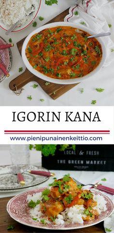 Igorin kana — Peggyn pieni punainen keittio