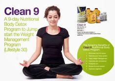 9 days nutritional body DETOX!!