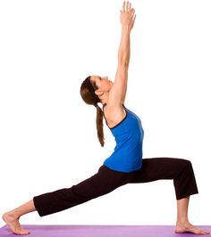 The #WarriorPose or Veerabhadrasana is one of the best #yogaposes for weight loss