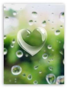 Rain heart...