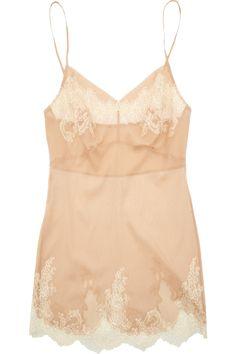 Carine Gilson Thème Egérie stretch silk-chiffon camisole - Definitely in Tess' wardrobe!