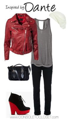 Console to Closet. Inspired by Dante of the Devil May Cry series. I would change the shoes to some boots or flats.