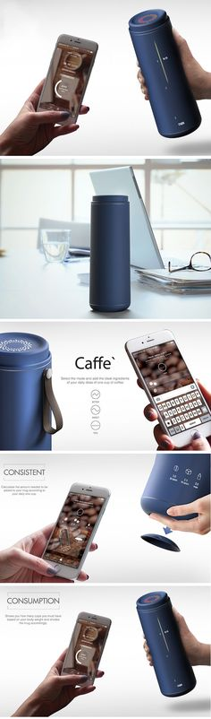 The Caffe thermos it aims to help improve the habit by alerting the user not only when it's time to have coffee, but also when it's time to stop. It syncs wirelessly with your smartphone and sends notifications when you've had too much or not enough joe. It also tracks habits over time and allows you to look at the bigger picture to navigate those caffeine cravings.
