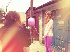 "Lilogi.com - ""Sugar High"" week, pastel colors, pastel fashion, fashion photography, behind-the-scenes, #pastel #behindthescenes #photoshoot #purple"