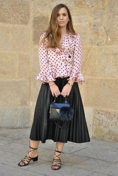 Style in Madrid con falda de Primeriti