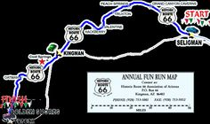 route 66 from seligman az to oatman az