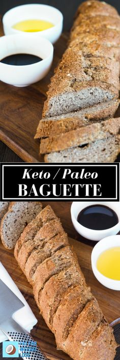 The history of the baguette spans across the french countryside. As you know, bread made in the traditional way breaks the laws of a ketogenic diet. This recipe is as close as you are going to get without kicking your body out of ketosis.  via @fatforweightlos