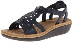 Cliffs by White Mountain Women's Chambray Wedge Sandal >>> Details can be found by clicking on the image. (This is an Amazon affiliate link)
