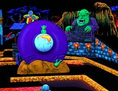If you are looking for a unique and fun Mini Golf experience, then Monster Mini Golf is it! 18 Holes of indoor glow in the dark Monster themed fun for all ages.