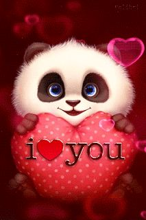 Panda I Love You Gif - Panda I Love You Gif love quotes gif i love you love images love gifs love pic love pic images love - Love Heart Images, I Love You Pictures, Beautiful Love Pictures, Cute Love Gif, Cute Love Quotes, Romantic Love Quotes, Love Pics, Funny Love Images, I Love You Funny