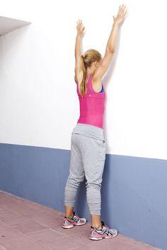Väggböj – en övning för rumpa och rygg