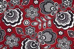 Bella Taylor's Carmine Fabric Swatch
