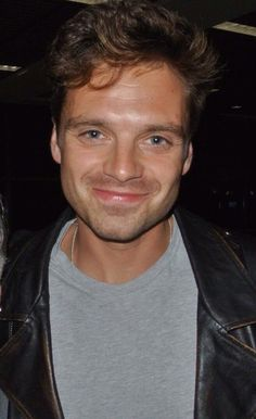 This has to be the most beautiful photo of Sebastian Stan