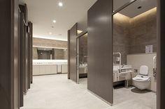 Ada Bathroom, Office Bathroom, Bathroom Toilets, Bathroom Interior, Wc Design, Toilet Design, Interior Design, Public Bathrooms, Dream Bathrooms