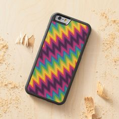 Wood Case iPhone 6 Zig Zag Chevron Pattern Carved® Maple iPhone 6 Bumper Case http://www.zazzle.com/wood_case_iphone_6_zig_zag_chevron_pattern_carved_maple_iphone_6_bumper_case-256750357779245033