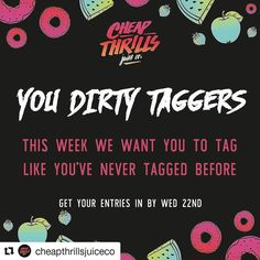 #Repost @cheapthrillsjuiceco with @repostapp  CHEAP THRILLS CHALLENGE #5 This weeks challenge -TAG US IN A HAND CHECK THAT NEEDS SOME CHEAP THRILLS IN IT.  The rules of the Challenge are: Tag us @Cheapthrillsjuiceco in a photo of the device you are using right now that you feel needs some cheap thrills in it!  Every person that enters will receive a 50% off code for anything on the site.  Use the hashtags #CHEAPTHRILLSCHALLENGE and #ILOVECHEAPTHRILLS  Like and Share this post  Follow…