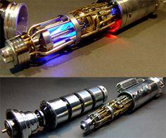 Handmade Custom Lightsabers by Roland Palotai