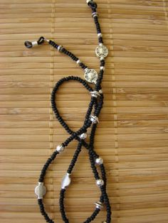 Eyeglasses chain Beaded Shoes, Beaded Jewelry, Man Jewelry, Eyeglass Holder, Imitation Jewelry, Glass Necklace, Earrings Handmade, Eyeglasses, Band