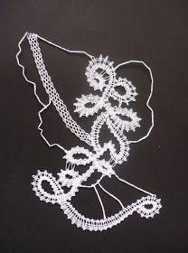 il tombolo di etta: Visti in rete Bobbin Lacemaking, Irish Crochet, Handicraft, Machine Embroidery Designs, Knots, Lady, Silver, Crafts, Jewelry