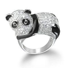 Anel de panda *.*