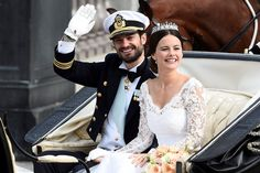 Sweden's Prince Carl Philip marries former reality TV star