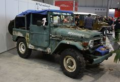 Toyota Land Cruiser FJ40 rust forgotten by Andy_BB, via Flickr