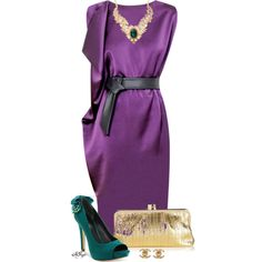 """""""Mardi Gras Contest"""" by kginger on Polyvore"""