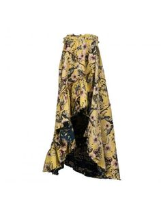 PHILOSOPHY DI LORENZO SERAFINI Philosophy Di Lorenzo Serafini Floral Asymmetric Skirt. #philosophydilorenzoserafini #cloth #https: